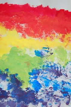 Rainbow color mixing