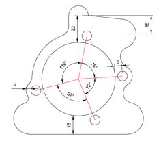 1000+ images about autocaf on Pinterest | AutoCAD, Bevel gear and 2d