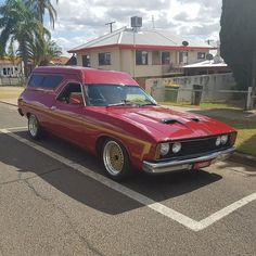 Australian Muscle Cars, Aussie Muscle Cars, Custom Classic Cars, Old School Vans, Vanz, Van Car, Ford Falcon, Futuristic Cars, Custom Vans