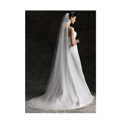 3m off white Cathedral Veil Lace Wedding Bridal by blinggarden, $28.99