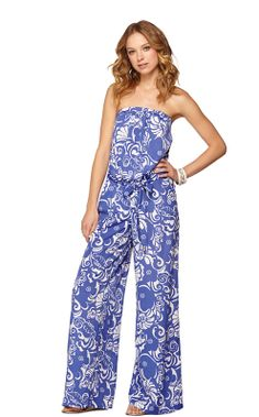 Farrah Strapless Jumpsuit. I'm in love with this jumpsuit.
