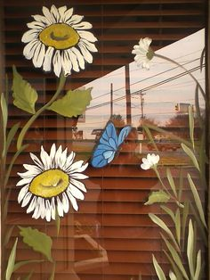 1000 images about window painting on pinterest for Painting on glass windows with acrylics