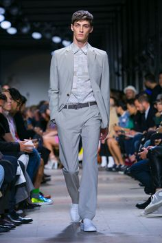 A look from the Hermès Spring 2015 Menswear collection.