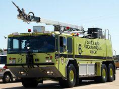 Houston Intercontinental Airport Fire Engine AR-6
