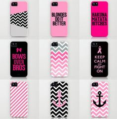 Pink Phone Cases!