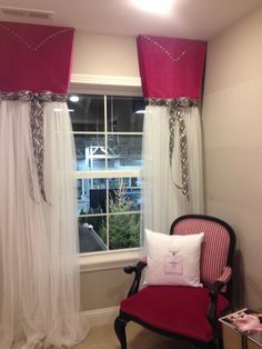 Love our little girls curtains! Girl Curtains, Baby Rooms, Little Girls, House Ideas, Home Decor, Babies Rooms, Toddler Girls, Decoration Home, Room Decor