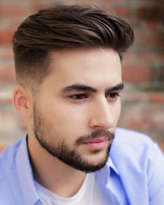 Mens Hairstyles With Beard, Cool Hairstyles For Men, Boy Hairstyles, Haircuts For Men, School Hairstyles, Office Hairstyles, Anime Hairstyles, Stylish Hairstyles, Haircut Styles For Boys