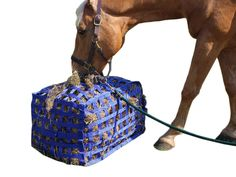Derby Natural Grazer Slow Feed Hay Bag Patented with Warranty | www.tackwholesale.com