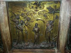Lorenzo Ghiberti in the baptistery of Siena