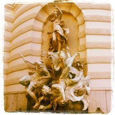 Vienna Versailles, Vienna, Austria, Places Ive Been, Destinations, Europe, Culture, Statue, Paris