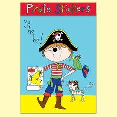 Rachel Ellen Pirate Stickers - Great Party Bag filler