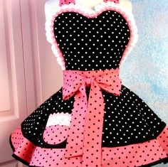 Sexy retro apron - this is so cute!