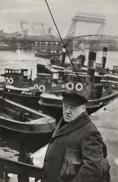 Henri Cartier-Bresson. Port of Hamburg, Germany. 1952