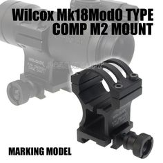 Aim point with Wilcox mount