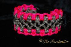 #Paraknotter #Handmade #Paracord #Paracord425 #Bracelets Crossed Sennit Chainlet