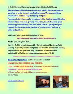 USUI/Holy Fire Reiki Certification