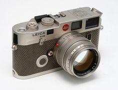 Leica M6 Platinum by Camera West, via Flickr
