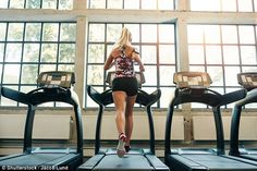 Too much exercise is wrecking more havoc on our bodies than good, Jess claims (stock image)