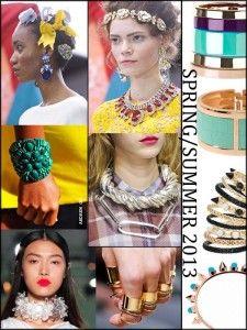 Spring 2013 Jewelry Trends- Rocks Paper Metal