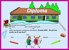 Imagini pentru diplome pentru scoala altfel Nerf, Diy And Crafts, School, Schools