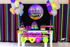 decoracion de 15 años en neon (5)