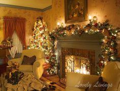 Christmas Decorations Living Room 53 wonderfully modern christmas decorated living rooms | christmas
