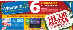 Walmart Black Friday Sale, Deals, Doorbusters, Maps and Guides Revealed