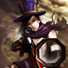 League of Legends Caitlyn