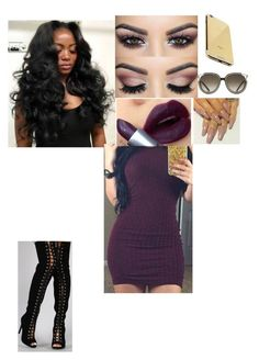 Untitled #307 by tinkbby on Polyvore featuring polyvore fashion style Dollhouse Goldgenie Chloé clothing