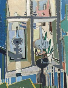 View Crambe Vicarage: York By Patrick Heron; oil on canvas; x cm. Access more artwork lots and estimated & realized auction prices on MutualArt. Patrick Heron, Painting Courses, Creative Textiles, Christian Art, Painting & Drawing, Illustration Art, Illustrations, Abstract Art, Drawings