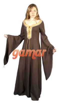 Traje Medieval Leonor. Vestidos Medievales Mujer. Disfraces Gamar 1264651d2f6d