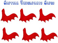 2 of 2 - Pin the cape on Captain Underpants ---- http://www.musingsofanaveragemom.com/2017/05/pin-cape-on-captain-underpants.html