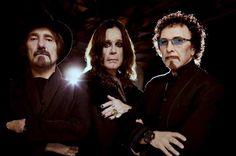 Legendene kommer: Black Sabbath, her representert ved Ozzy Osbourne, Tony Iommi og Geezer Butler, spiller på Fredriksten festning i Halden 23. juni neste år.