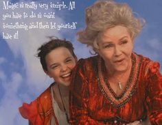 """""""Magic is really very simple. All you have to do is want something and then let yourself have it!"""" - Aggie Cromwell (Debbie Reynolds) in """"Halloweentown"""" (1998)"""