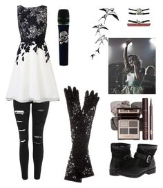 """""""Lacey Sturm"""" by christinachapman-1 on Polyvore featuring Charles Albert, Topshop, Coast, Swarovski, Dolce&Gabbana, women's clothing, women, female, woman and misses"""