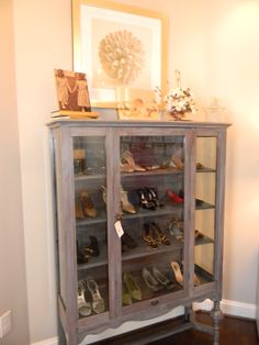 love the legs, and seriously can you imagine having a shoe cabinet like this. or that many shoes for that matter.