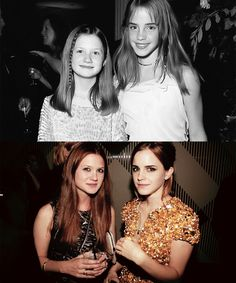 Bonnie and Emma, then and now.