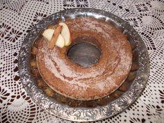 bolo de aveia, banana e maçã diet