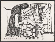 Painter, 1980 Philip Guston