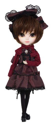 I think they could have made her outfit more detailed. Pretty Dolls, Beautiful Dolls, Goth Bedroom, Tokyo Otaku Mode, Hair Ribbons, Mode Shop, Doll Stands, Blythe Dolls, Akira