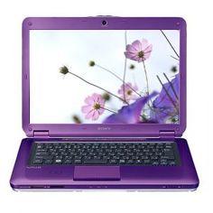 Sony vaio purple laptop...