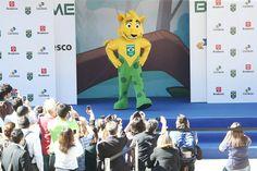Com Dilma presente, COB apresenta Ginga, a mascote do Time Brasil  #globoesporte