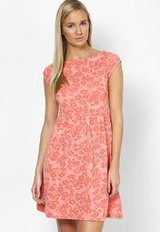 d892049f556 Buy DOROTHY PERKINS Pink Colored Printed Skater Dress Online - 3511797 -  Jabong