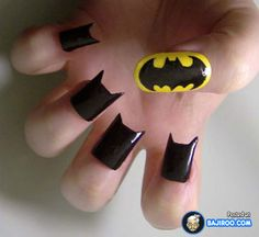 Most Funny, Weird, Unusual Nail Art For Crazy Women (24 Photos)