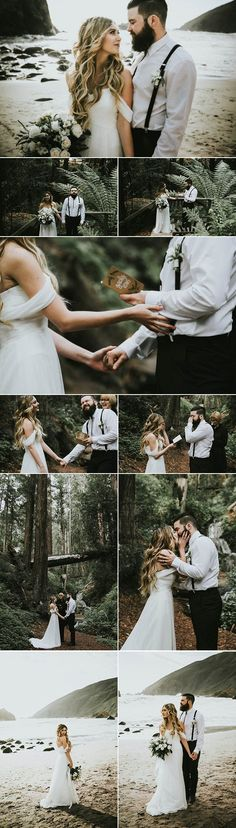 Jawdropping Big Sur elopement captured by  Krista Ashley Photo