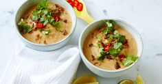 Thai cauliflower soup.