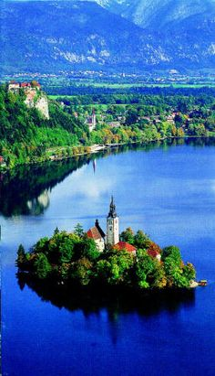 Lake Bled Slovenia.I would love to go see this place one day.Please check out my website thanks. www.photopix.co.nz