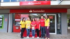 Santander in Keele raised hundreds for Bring a Pound Day http://www.dougiemacevents.co.uk/