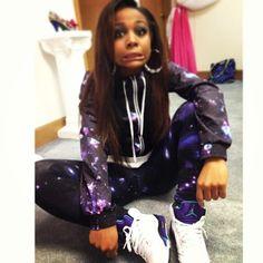 I love her hoodie