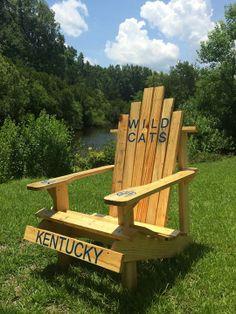 #Kentucky #Wildcats Custom Adirondack Chair By Giant Babyu0027s